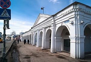 Торговые ряды в центре Галича