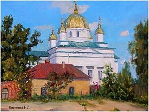 Художник Баринова Н.Л. г.Кострома.
