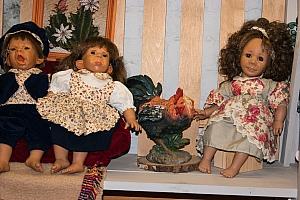 Выставка старинных кукол