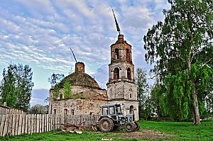Церковь Рождества Пресвятой Богородицы. Село Реброво Галичский район.